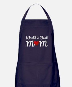 World's Best Mom Apron (dark)