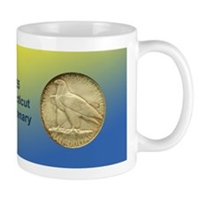 Connecticut Tercentenary Coin Mug