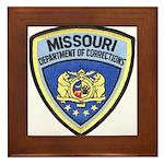Missouri Prison Framed Tile