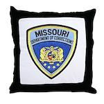 Missouri Prison Throw Pillow
