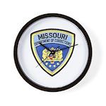 Missouri Prison Wall Clock