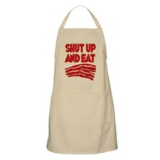 Shut Up And Eat Bacon Apron