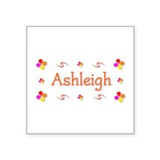 "Ashleigh 1 Square Sticker 3"" x 3"""