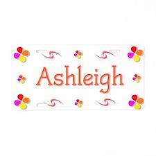 Ashleigh 1 Aluminum License Plate