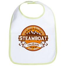 Steamboat Tangerine Bib