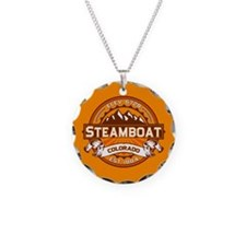 Steamboat Tangerine Necklace