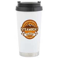 Steamboat Tangerine Travel Coffee Mug