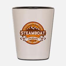 Steamboat Tangerine Shot Glass