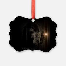 Newfie Noir Ornament