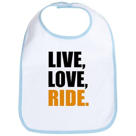 live love ride Bib
