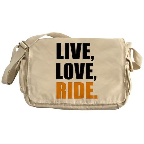 live love ride Messenger Bag