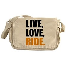 live love ride Messenger Bag
