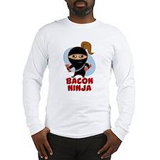 Bacon Ninja Long Sleeve T-Shirt