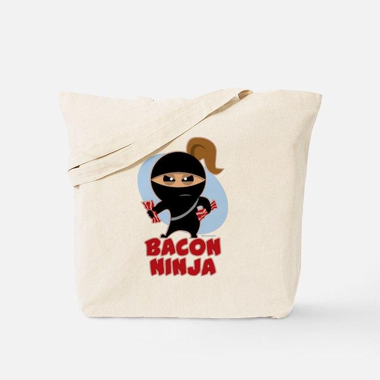 Bacon Ninja Tote Bag