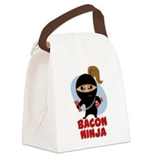 Bacon Ninja Canvas Lunch Bag