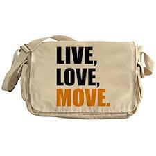 live love move Messenger Bag