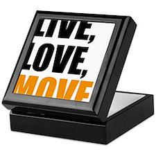 live love move Keepsake Box