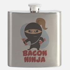 Bacon Ninja Flask