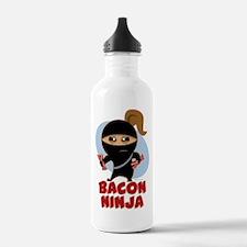 Bacon Ninja Water Bottle