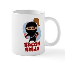 Bacon Ninja Small Mugs