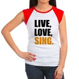 Sing Women's Cap Sleeve T-Shirt