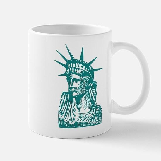 Status of Liberty Mug