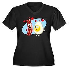 Bacon Love Plus Size T-Shirt