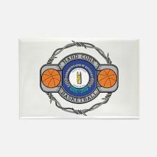 Kentucky Basketball Rectangle Magnet