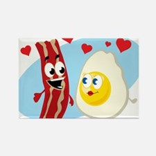 Bacon Love Rectangle Magnet (100 pack)