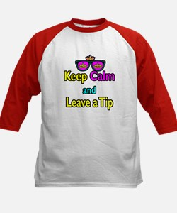 Crown Sunglasses Keep Calm And Leave a Tip Tee