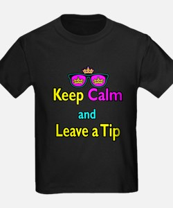 Crown Sunglasses Keep Calm And Leave a Tip T