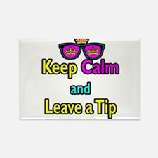 Crown Sunglasses Keep Calm And Leave a Tip Rectang