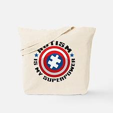 Autism Shield Tote Bag