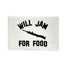 Will jam or play the Soprano Sax for food Rectangl
