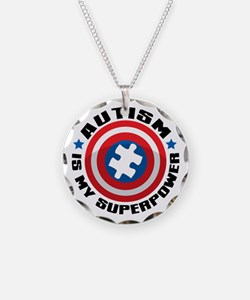 Autism Shield Necklace