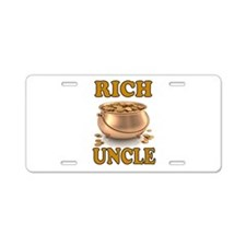 RICH UNCLE Aluminum License Plate