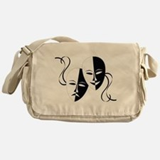 Theater Masks Messenger Bag