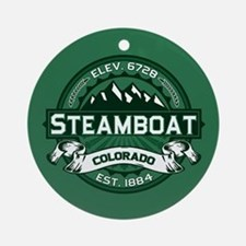 Steamboat Forest Ornament (Round)