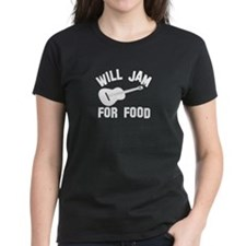 Will jam or play the Ukelele for food Tee