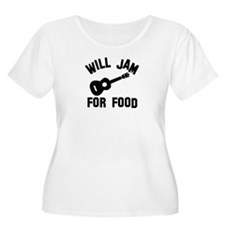Will jam or play the Ukelele for food T-Shirt