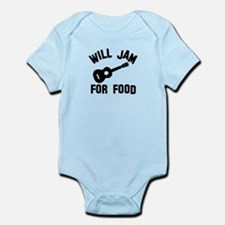 Will jam or play the Ukelele for food Infant Bodys
