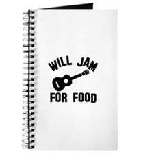 Will jam or play the Ukelele for food Journal