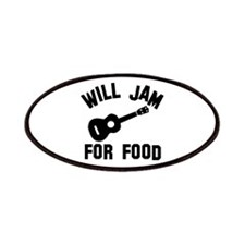 Will jam or play the Ukelele for food Patches