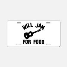 Will jam or play the Ukelele for food Aluminum Lic