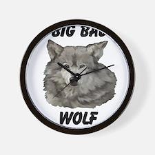 Big Bad Wolf Wall Clock