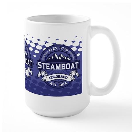 Steamboat Midnight Large Mug