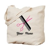Hair stylist Canvas Totes
