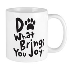 Do What Brings You Joy, Black Mug