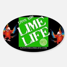 Livin' the Lime Life Logo Decal