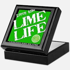 Livin' the Lime Life Logo Keepsake Box